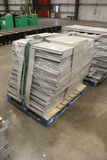 Pallet Of Gray Madix Gondola Shelves