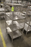 4 Tier Stainless Rack