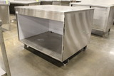 4' Stainless Steel Table W/ Storage
