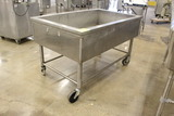 Stainless Steel Tub On Casters