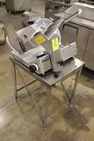 2008 Bizerba SE12US Deli Slicer W/ Equipment Stand
