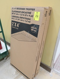 2' x 4' recessed troffers, new in box