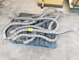 pallet of flexible metal track