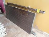 solid steel door w/ steel frame