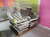 pallet of Madix shelving & wire dividers
