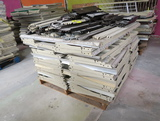 pallet of Madix shelving, feet, top, bottom, & middle braces