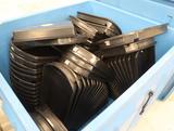 assorted plastic produce merchandising trays
