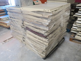pallet of Madix shelving
