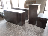 wooden cabinetry & file cabinets