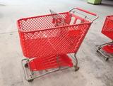 plastic shopping carts