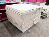 pallet of washable ceiling tiles