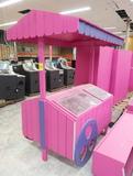 decorative bulk candy cart merchandiser