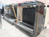Barker refrigerated floral cases, 8' & 6' case w/ outside angle