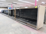 Hussmann multideck refrigerated cases, 60' run (12+12+12+12+12)