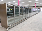 Hussmann RL freezer doors, w/ ele defrost (5+5+5+5+5)