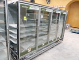 Hussmann RL freezer doors, w/ ele defrost & R end, 4) doors