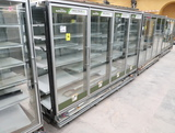 Hussmann RL freezer doors, w/ ele defrost, no ends, 4) doors
