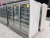 Hussmann RL freezer doors, w/ ele defrost & R end, 3) doors