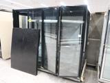 Hill Phoenix glass door floral case, 8' case w/ L end, very rough shape