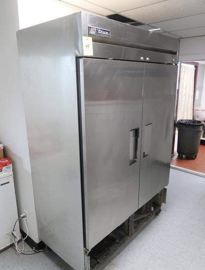 True stainless refrigerator
