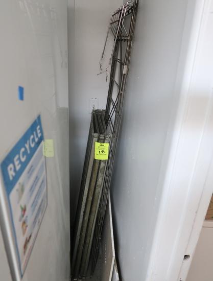 4-shelf wire rack
