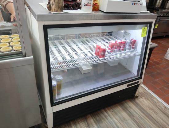 True refrigerated service merchandiser