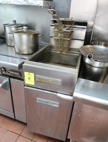 American Range fryer, not working