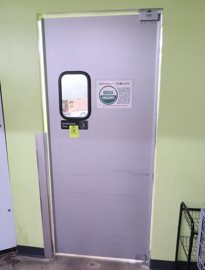 aluminum crash door