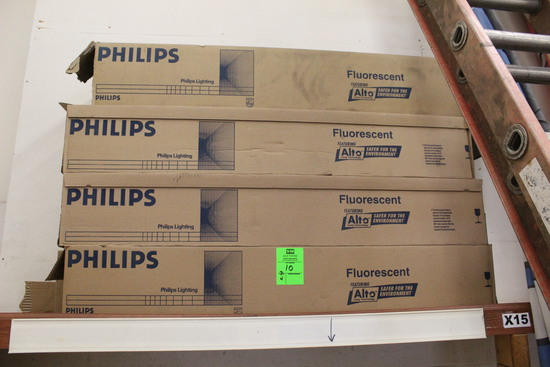 Boxes Of Phillips Fluorescent Bulbs