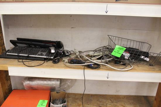 Keyboards, File Organizer, Hole Punch, Surge Protectors