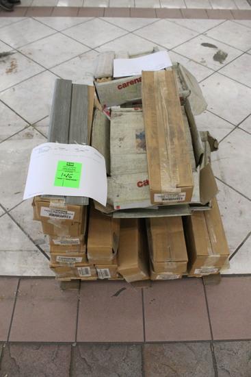 Pallet Of Assorted Trim Tile