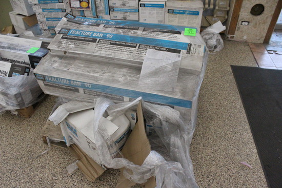 Pallet Of Laticrete Fracture Ban And Primer