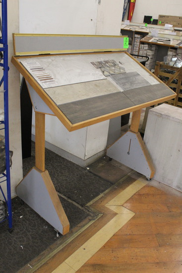 Drafting Table On Casters