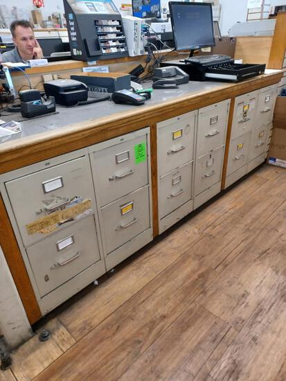 Two Drawer File Cabinets