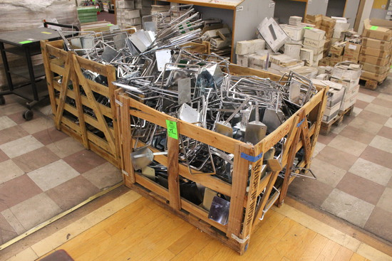 Crates Of Metal Sign Frames