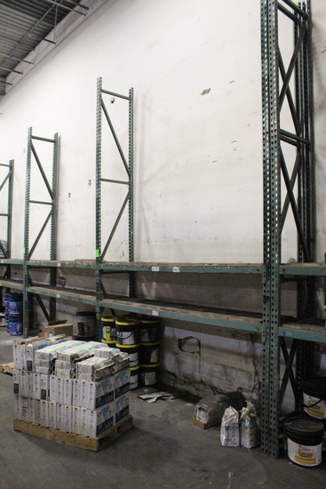 2 Sections Of Shallow Tear Drop Racking