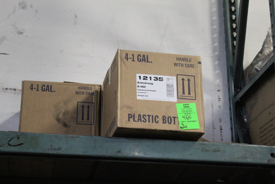 Boxes Of Armstrong Commercial Polish