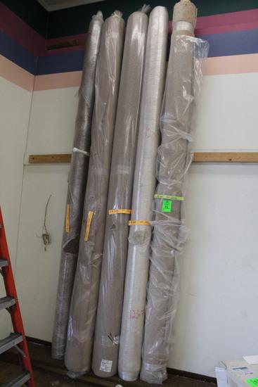 Assorted 12' Carpet Rolls