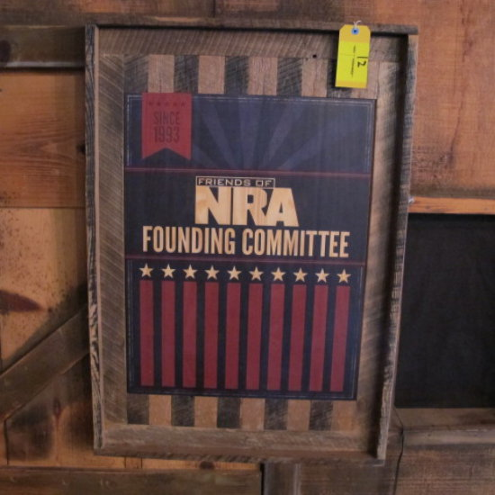 """Friends of NRA"" sign"