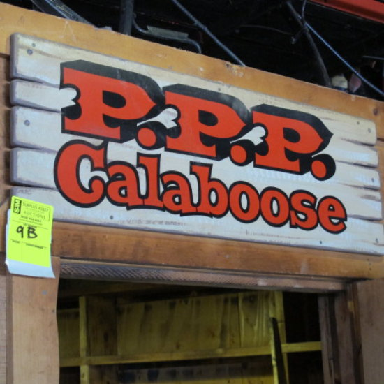PPP Caboose sign