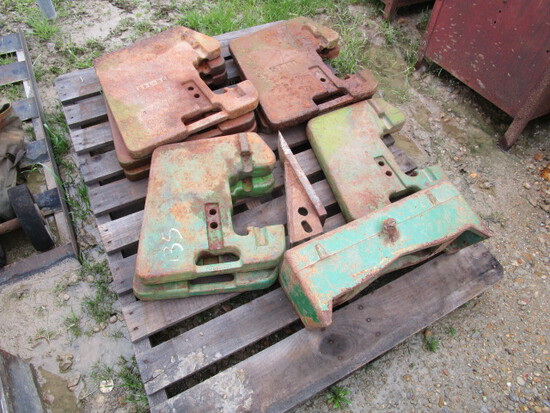 Tractor Weights and Bracket