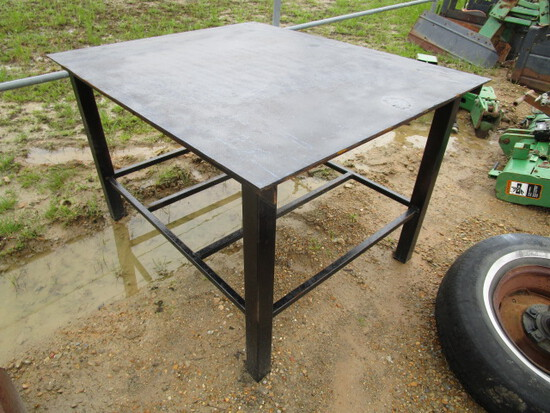 Metal Shop Table