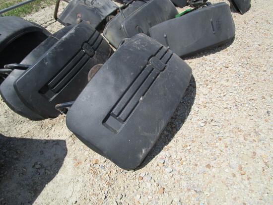 John Deere Front Fenders w/ Brackets
