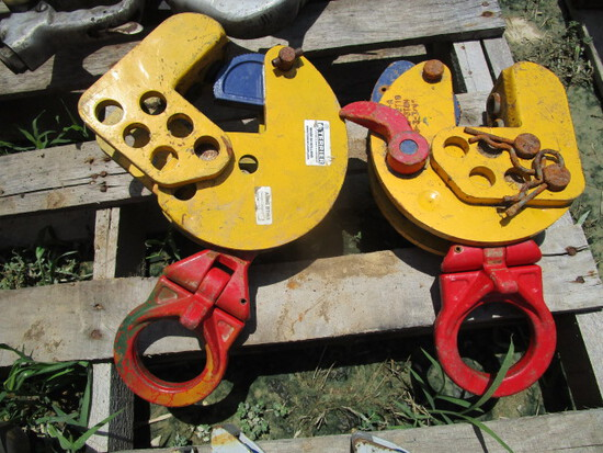 (2) Lifting Clamps