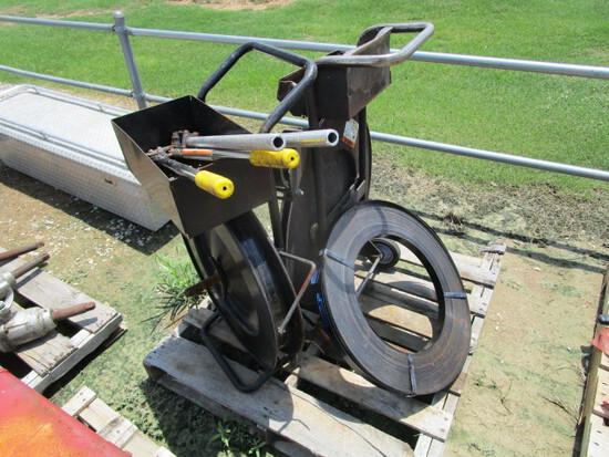 (2) Metal Banding Machines w/ Crimpers