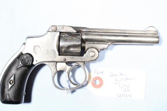 SMITH WESSON TIPUP, SN 131564