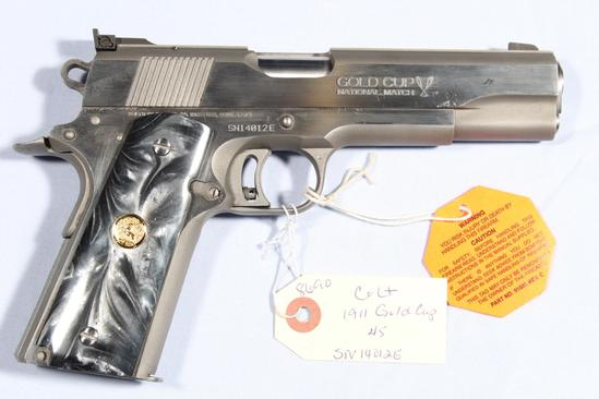 COLT 1911 GOLD CUP NATIONAL MATCH SERIES 80,