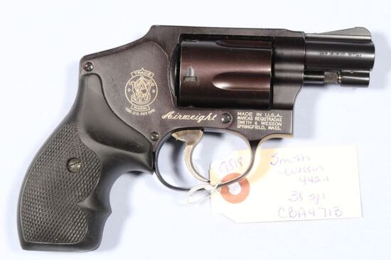 SMITH WESSON 442-1 AIR WEIGHT, SN CBA4713,