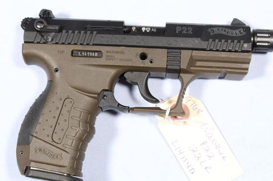 WALTHER P22, SN L141140,
