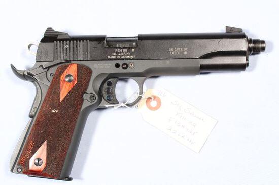 SIG SAUER 1911-22, SN F134128,